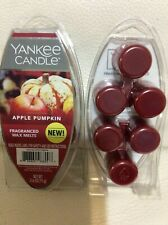 Yankee Candle Apple Pumpkin Fragranced Wax Melts 2 Pkgs NEW! Spicy
