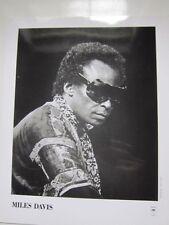 Miles Davis 8x10 photo