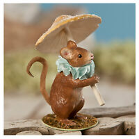 Bethany Lowe Mouse Mushroom Fairy Garden Party Easter Spring Figurine Decor
