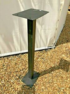 Royal mail post box stand in steel with paint finish post 100cm