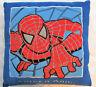 Spiderman Plush Stuffed Square Pillow 14 x 14 Marvel Comics