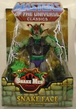 Masters Of The Universe Classics Snake Face Snake Men Mattel (MOC) With Mailer