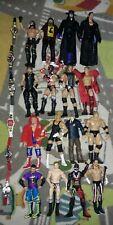 HUGE WWE ELITE LOOSE LOT 16 MATTEL ELITE WRESTLING FIGURES 6 BELTS FREE SHIP