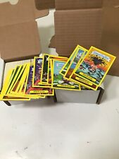 2011 Garbage Pail Kids Flashback YELLOW Lot Of About 200 Cards With Adam Mania