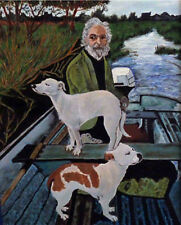 Handmade Oil Painting repro on Canvas Goodfellas 16''x24''