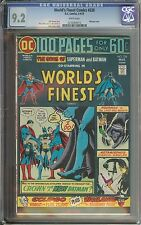 World'S Finest Comics #228 Cgc 9.2 White Pages / Nick Cardy Cover