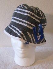 7018e1bcb28 NWT Keds Womens Reversible Bucket Hat OSFA Black Beach Stripe Black Dot  MSRP 35