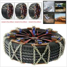 Wear-Resistant Steel Emergency Car SUV Wheel Tire Snow Anti-skid Chains 34*15cm