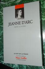 JEANNE D'ARC sainte ou sorcière, Laurent  Hablot coll ILS ONT FAIT LA FRANCE