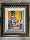 """MARCEL MOULY """"Le Pichet Chinois"""" Lmtd Edition 149/300 Signed Lithograph Framed"""