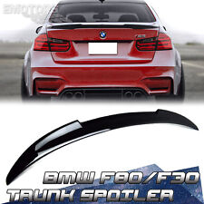 Painted Color #475 For BMW 3-Series F30 F80 M3 Saloon V Trunk Spoiler 340i 328d