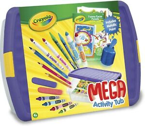 Crayola mega Activity Tub - Children's Arts and Crafts Playtime