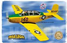 NEW TOPFLITE TOP FLITE T-34B T34 T34B MENTOR TOPA0160 RC BALSA AIRPLANE KIT !