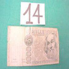 1000 mille lire marco polo 6-1-1982 DB 947356 E RARA