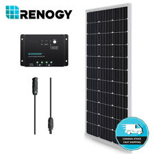 100W 12V Mono Solar Panel w/ 30A Controller Kit Off Gird Camping Battery Charger