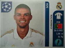Panini 213 Pepe Real Madrid UEFA CL 2011/12