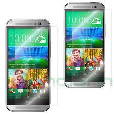 2x Pellicola protettiva display pr HTC One M8 M8s protezione schermo trasparente
