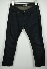 Acne Jeans Max Brut Homme W32/L32 Slim Fit Brut Braguette Zip Jean 21331_ Js