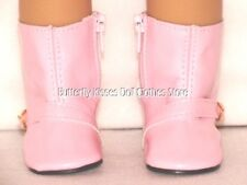 Pink Bucke Rain Boots 18 in Doll Clothes Fits American Girl Dolls
