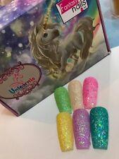 unicornio coleccion de fantasy nails