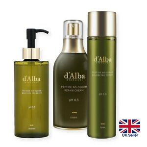 d'Alba Piedmont Peptide No Sebum Skincare Set: Anti-Ageing Control Sebum [UK]