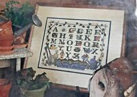 1999 Vtg NIP BH&G Stamped Cross Stitch Kit Gardeners Alphabet Sampler 16x20 8246