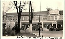 Vintage Photograph OH Dayton Salem & Grand Ave 1927 Synders COPY #2