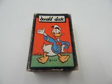 "Russell Card Games ""Donald Duck"" Disney Vintage / Antique"