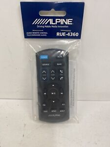 Alpine RUE-4360 Audio Remote Control For Later Alpine Headunits iR Remote