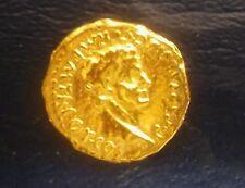 NICE 37-41 A. D. oro Aureus dell'imperatore Caligola-reinnesco