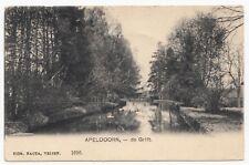 Apeldoorn - De Grift 1907 - Ansichtkaart - Langebalk stempels Apeldoorn - Kampen