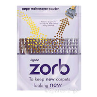 Genuine DYSON Zorb 750g Dry Carpet Rug Upholstery Cleaning Maintenance Powder