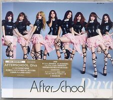 After School: Diva (2011) Japanese / CD & DVD & CARD VERSION A TAIWAN