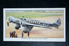 Air France  Dewoitine D332   Vintage 1930's Illustrated Card   VGC