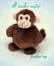 "Bearington Bear Plush Doll STOUT SPROUTS-MILO the Monkey  6"" High NWT"