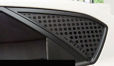 Rear Left Right C Pillar Carbon Black Sticker For Kia Forte 5door Hatchback