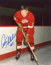 """PETE MAHOVLICH DETROIT RED WINGS SIGNED 8""""x10"""" PHOTO w/ COA"""
