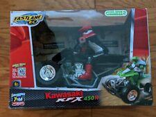 Toys R Us FastLane Rc Kawasaki Kfx 450R Atv 4 Wheeler Remote Control New