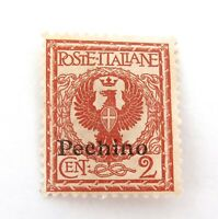 .ITALY OFFICES ABROAD CHINA, PEKING PEEHINO 2c MH NICE GRADE STAMP.