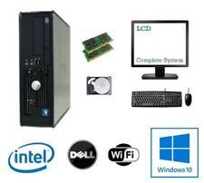 PCs de sobremesa y todo en uno Dell Intel Core 2 8GB