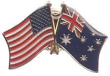 Lot Of 3 Australian Friendship Flag Lapel Pins - Australia Flag Pin