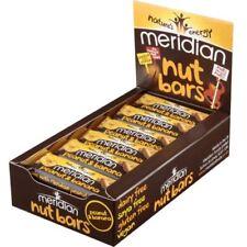 Meridian Foods Natural Peanut & Banana Bar 40g (Pack of 18)