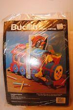Bucilla Plastic Canvas Storybook Express Bookends 6066  Virginia & Michael Lamp