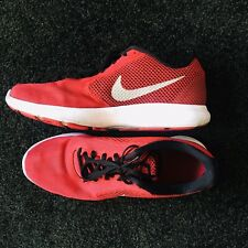 Men's Nike Revolution Size 10 Red Great Condition