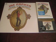 JOE COCKER MAD DOGS & ENGLISHMAN MFSL 24 KARAT GOLD CD + ANNIVERSARY DVD + LP