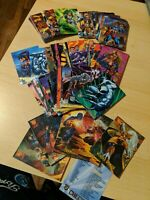 DC Marvel Trading Cards - Incomplete Set