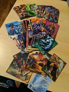 DC Marvel Trading Cards - Incomplete Set
