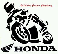 Sticker Honda Aufkleber Bike Biker 1A Motorrad Tuning Top