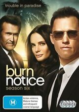 - BURN NOTICE SEASON SIX [4 DVD's] 18 EPISODES (NEW SEALED) REGION 4 [NOW 27.75]