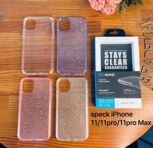 New Presidio Clear Glitter Case Cover For Apple iPhone 11 12 Pro MAX 12 Mini